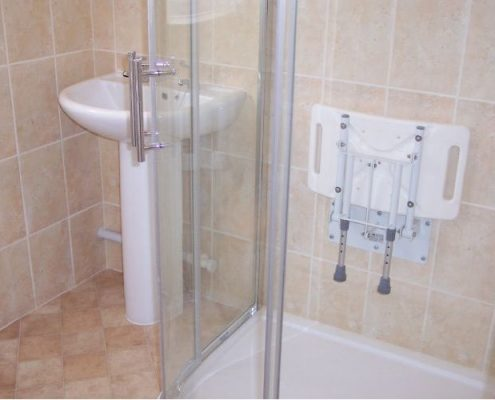 BST Bathrooms old shower unit