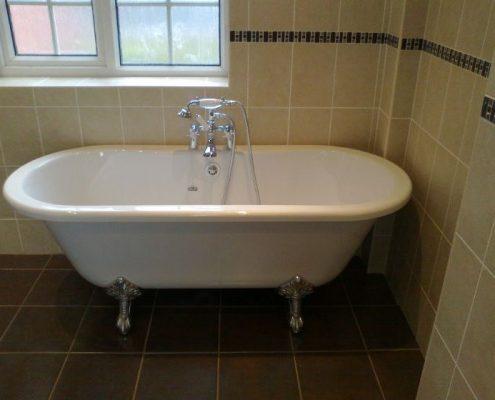 BST Bathrooms roll top bath
