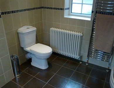 what are the different types of bathrooms that we can install