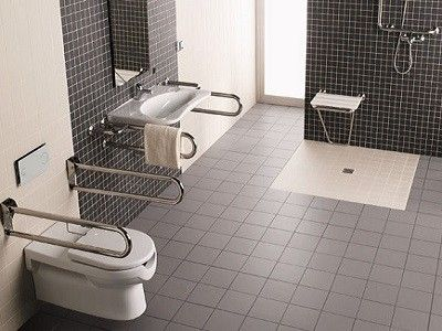 Bon Non Slip Flooring Disabled Bathroom Design In Southampton